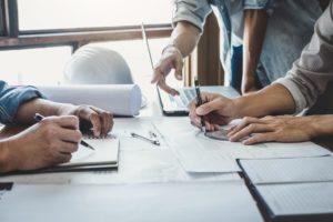 Les détails concernant les aspects juridiques d'une construction